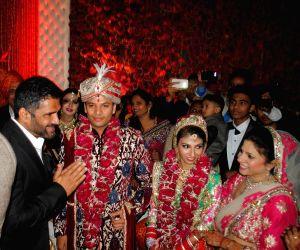 Producer Krishna Choudhary's daughter's wedding