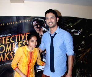 Sushant Singh Rajput promotes film Detective Byomkesh Bakshy!