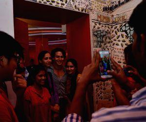 Tiger Shroff promotes music video Zindagi Aa Raha Hu Main at 93.5 Red FM