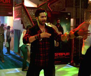 Varun Dhawan promotes film Badlapur on the sets CID