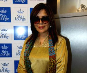 Zeenat Aman launches Skin Lounge
