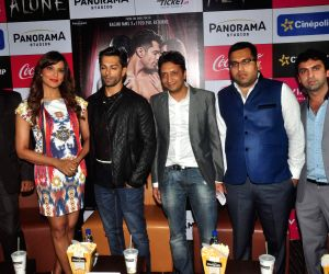 Promotion of film Alone