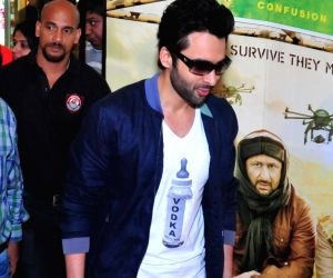 Promotion of film Welcome to Karachi