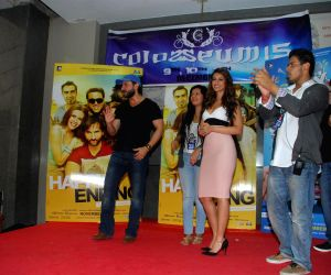 Promotion of film Happy Ending