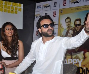 Promotion of film Happy Ending at CCD