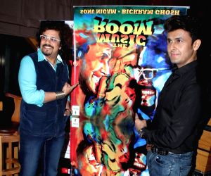 : Mumbai: Sonu Nigam and Bickram Ghose celebrates their selection in Oscar for movie Jal