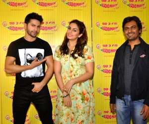 Promotion of their upcoming movie Badlapur