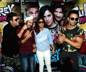 "Promotion of film ""Fukrey Returns"" - Varun Sharma, Manjot Singh, Richa Chadd and Pulkit Samrat"