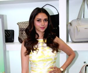 Aditi Rao Hydari during the launch of Spring Summer Collection by Nine West