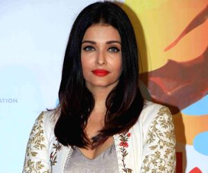 "Mumbai: Actress Aishwarya Rai at ""Lalkaar- Main Kuch Bhi Kar Sakti Hoon"" concert organised by Farhan Akhtar in Mumbai on Feb 14, 2019. (Photo: IANS)"