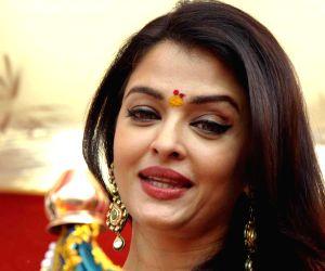 Gudhi Padwa - Aishwarya Rai Bachchan, Abhishek Bachchan