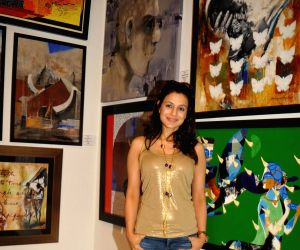 Inauguration of a group art exhibition Colors of Life - Crafted Change