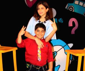 Anushka Sharma shoots for Disney channel chat show