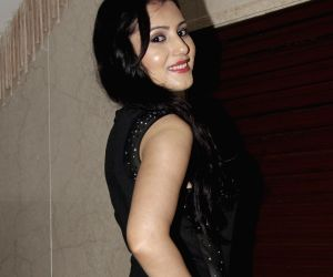 Actress Anusmriti Sarkar snapped posing at a Page 3 party