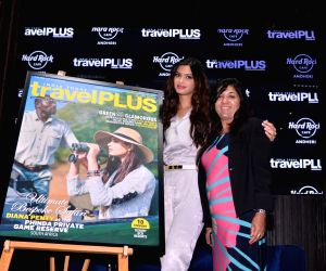 Diana Penty unveils the cover of November issue of Travel Plus