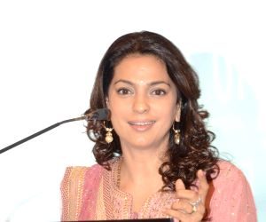 Juhi Chawla, Nagesh Kukunoor launch resource portal on Child Abuse