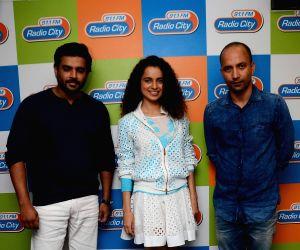Promotion of film Tanu Weds Manu Returns at Radio City studio