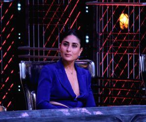 """Mumbai: Actress Kareena Kapoor Khan on the sets of dance reality show """"Dance India Dance"""" in Mumbai, on May 30, 2019. (Photo: IANS)"""