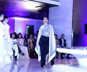 Designer Anamika Khanna show at Lakme Fashion Week Summer Resort 2015  - Day  6