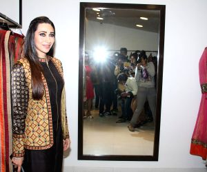 Karisma Kapoor during the launch of fashion designer Anjali Jain's store
