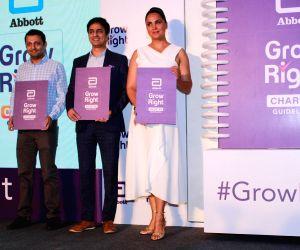 "Mumbai: Actress Lara Dutta at the launch of ""Grow Right"" campaign in Mumbai, on July 30, 2019. (Photo: IANS)"