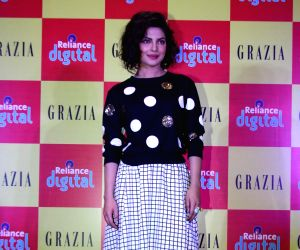 Priyanka Chopra during the launch of Grazia magazine