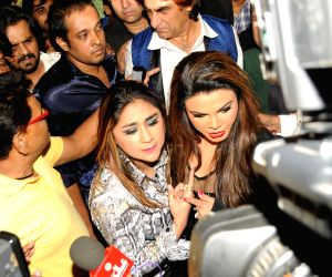 Rakhi Sawant's friend slaps director over casting couch
