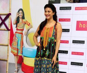Shruti Haasan at a fashion show
