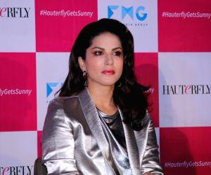 Mumbai: Actress Sunny Leone during a programme in Mumbai on April 30, 2019. (Photo: IANS)
