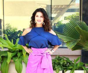 Mumbai: Actress Sunny Leone seen at a Juhu hotel in Mumbai, on April 1, 2019. (Photo: IANS)
