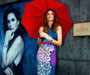 Cindy Crawford launches a product