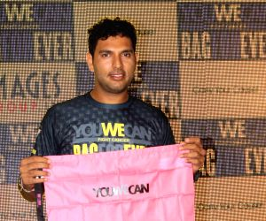 Yuvraj Singh launches You We Can Fight Cancer