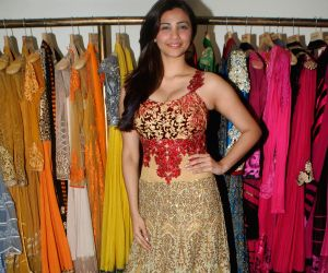 Daisy Shah fittings check for the  21st Lions Gold Award 2015