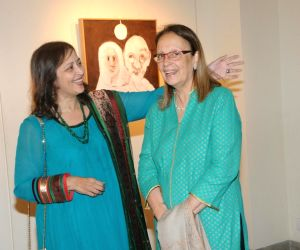 Launch of painting exhibition Nitya Gandhi Living Reliving Gandhi