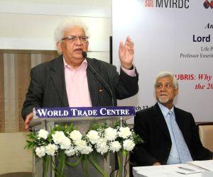 Lord Meghnad Desai announces academy of economics