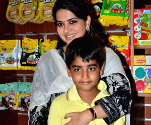 Perizaad Zorabian and Rashmi Nigam celebrate Children's Day