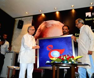 Launch of painting series Ghalib & Gulzar