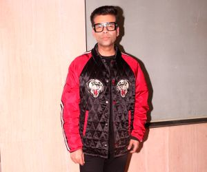 Mumbai: Filmmaker Karan Johar arrives at the naming ceremony of producer Ekta Kapoor's son in Mumbai on Feb 11, 2019. (Photo: IANS)