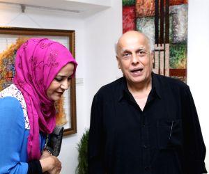 Mahesh Bhatt inaugurates art exhibition Elahiya