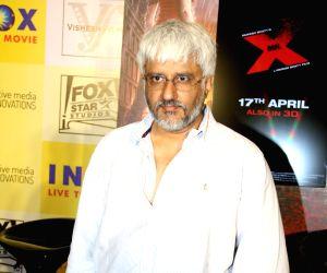 Promotion of film Mr X