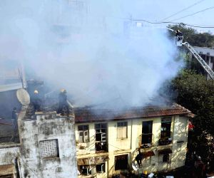 Fire breaks out in Mumbai's Byculla