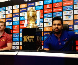 IPL trophy joint press conference - Rohit Sharma, Steve Smith