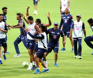 Mumbai Indians - practice session
