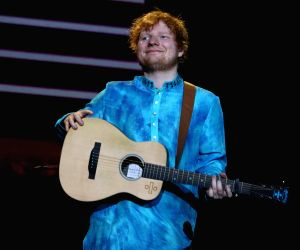 Ed Sheeran performs at Gordon Ramsay's daughter's 18th B'day