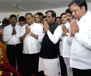 Maharashtra BJP chief visits Chaitya Bhoomi