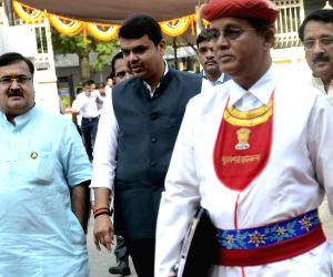 CM Devendra Fadnavis at Maharashtra Assembly