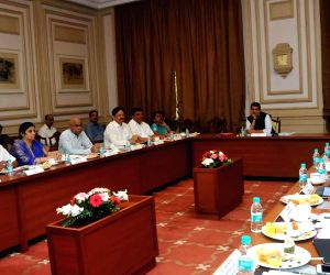 Devendra Fadnavis meeting with MMRDA delegation