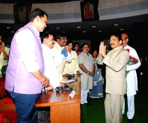 Maharashtra Governor addresses joint session of Maharashtra Legislative Council and Legislative Assembly