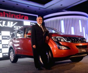 Launch of Mahindra's XUV500