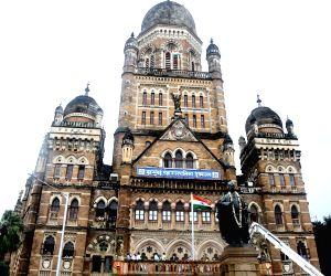 Mumbai Mayor Kishori Pednekar during 74th Independence Day celebrations at BMC Head Office